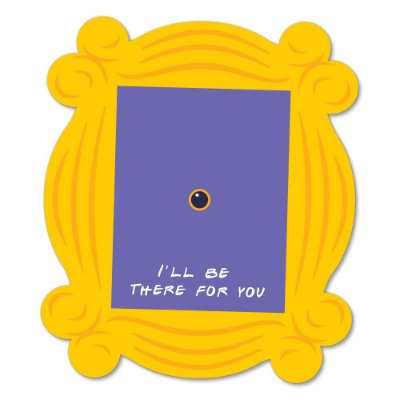 Placa Decorativa 24x20 I'll be there for you - Beek