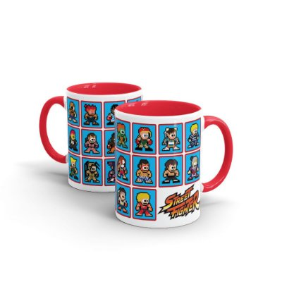 Caneca STREET FIGHTER 8-Bits - Beek