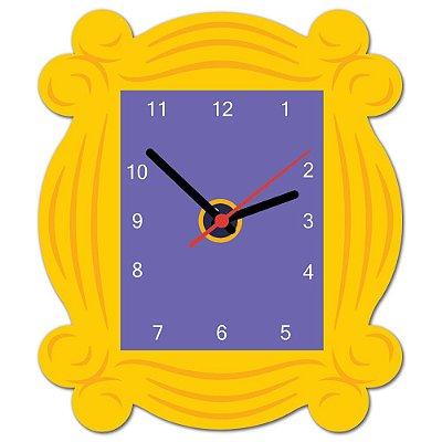Relógio de Parede Beek Friends Quadro