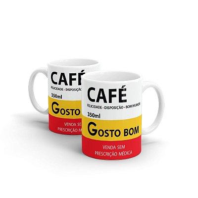 Caneca Cerâmica Café Sátira de Remédios - Beek