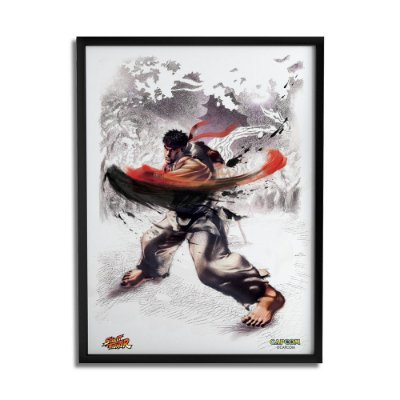 Quadro Decorativo Street Fighter Ryu - Beek