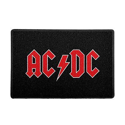 Capacho 60x40cm AC/DC Logo - Beek