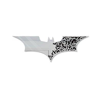 Espelho Decorativo feito em Acrílico Espelhado 3mm (60x20cm) - Morcegos