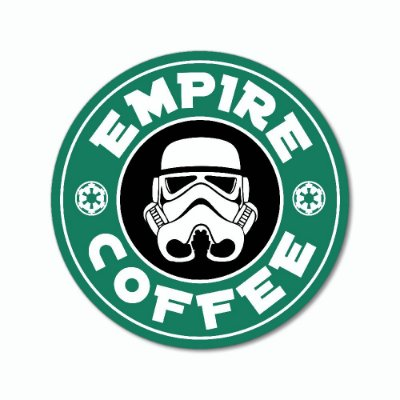 Placa Decorativa 20x20 Empire Coffee - Beek