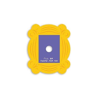 Placa para Olho Mágico 17x20 Quadro Friends - Beek
