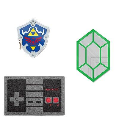 Kit Decorativo De Boas Vindas 3 Peças - Zelda1