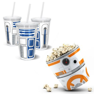 Kit Cinema - Balde De Pipoca 3,5l + Copo 500ml - SW-Androids2