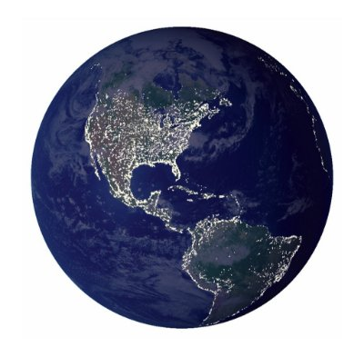 Luminária Uncle Milton Planeta Terra In My Room