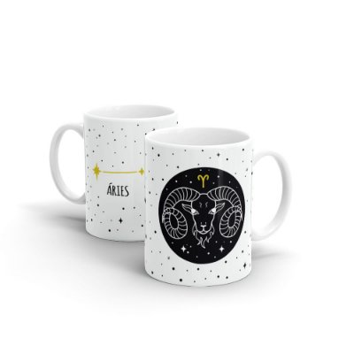 Caneca Cerâmica - Signo Áries