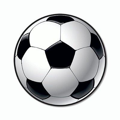 Placa Decorativa 25x25 - Bola de Futebol