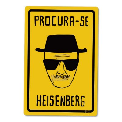 Placa Decorativa 24x16 - Heisenberg