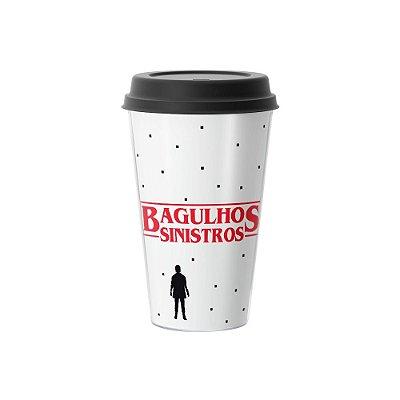Copo Café 500ml - BAGULHOS SINISTROS Branco
