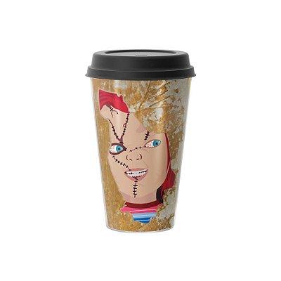 Copo Café 500ml - BRINQUEDO DO MAL