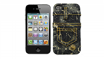 Capa iPhone JEANS PRETO