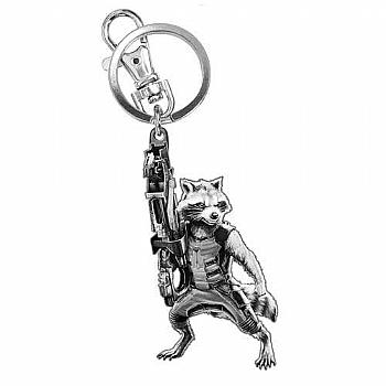 Chaveiro Rocket Raccoon Guardiões da Galáxia