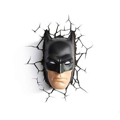 Luminária 3D Light FX DC Comics Rosto Batman