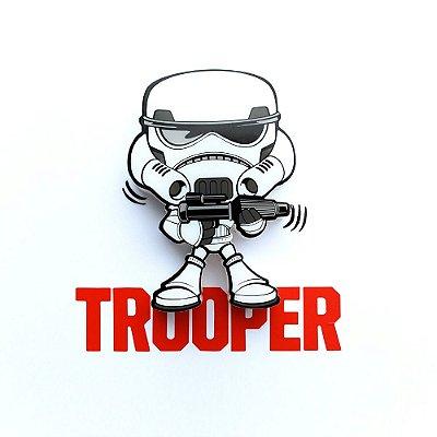 Mini Luminária 3D Light FX Star Wars Storm Trooper