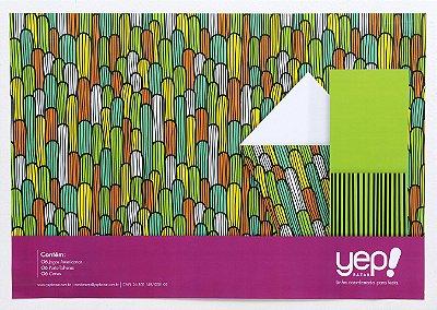 Kit Coordenado Cacto - Jogos Americanos, porta-talheres e cones para petiscos em papel