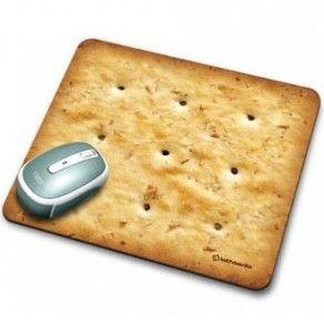 Mouse pad biscoito