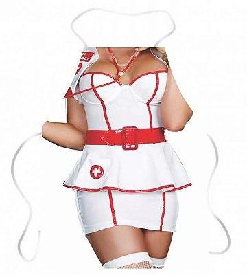 Avental criativo enfermeira