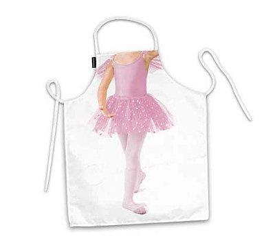 Avental infantil corpo bailarina
