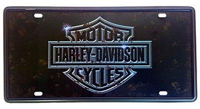 Placa de metal Harley Davidson