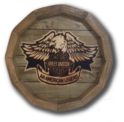 Quadro barril Harley Davidson