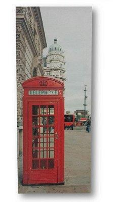 Poster cabine vermelha