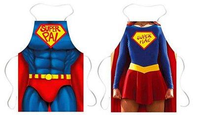 Avental superpai e supermãe