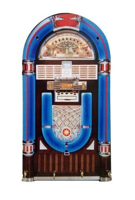 Porta chaves jukebox