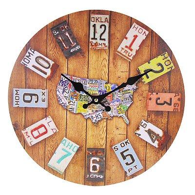 Relógio de parede Australia