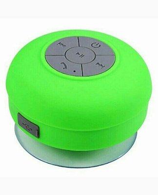 Mini caixa de som a prova d'água verde