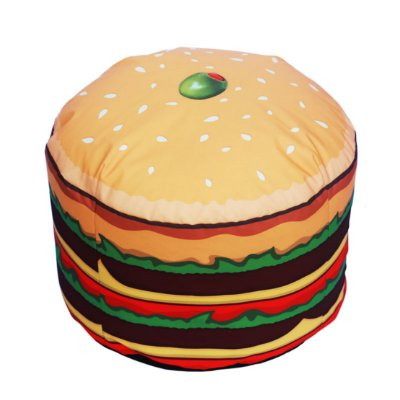 Puff hamburguer