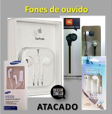 ATACADO - Fones de ouvido