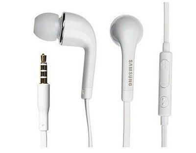 Fone de ouvido Samsung Galaxy S4 branco