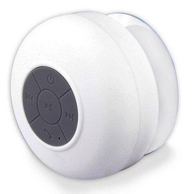 Mini caixa de som a prova d'água branca