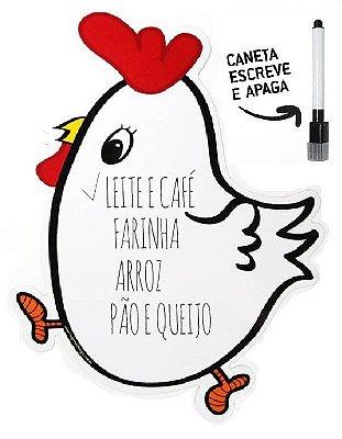Lousa magnética galinha