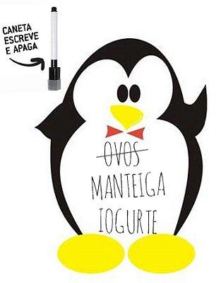Lousa magnética pinguinzinho