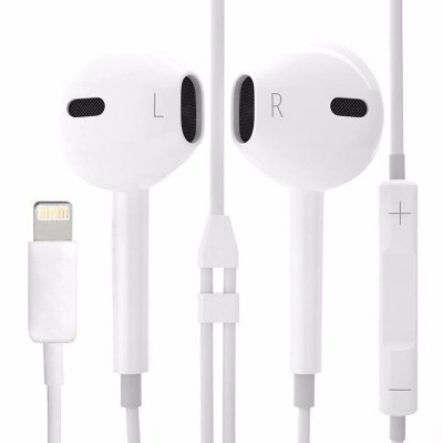 Fone de ouvido Earpods Lightning Conector Bluetooth