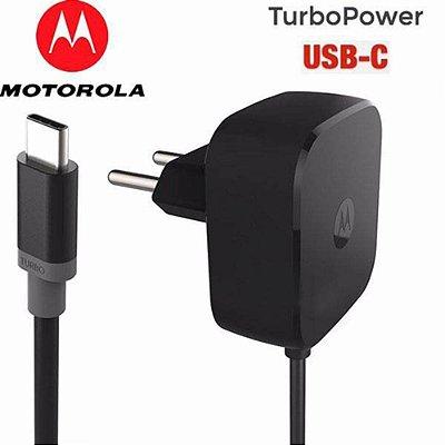Carregador turbo USB-C 30W Motorola