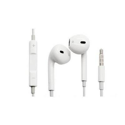Fone de ouvido com microfone e controle de volume P2 iPhone iPad