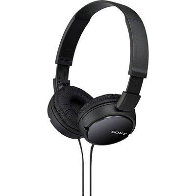 Fone de ouvido Sony preto MDR-ZX110