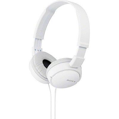 Fone de ouvido Sony branco MDR-ZX110