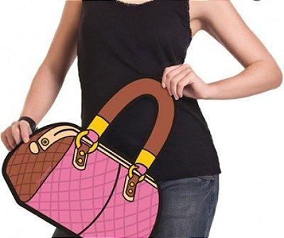 Bolsa 3D maxi fashion