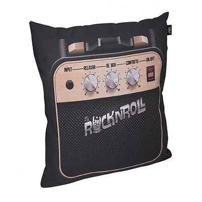 Capa de almofada rock and roll