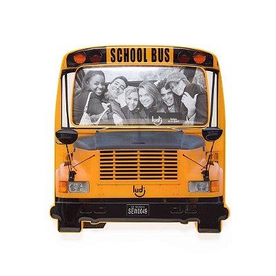 Porta retrato ônibus escolar