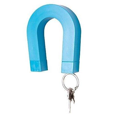 Porta chaves magnético azul