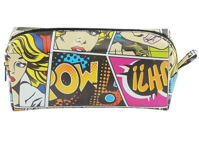 Necessaire quadrinhos Hq pop pow