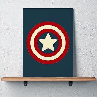 Quadro Capitão América