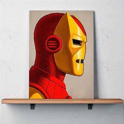 Quadro Retrato Homem de Ferro